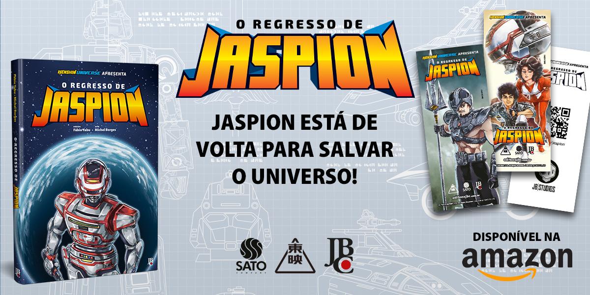 """Começa a pré-venda do mangá """"O Regresso de Jaspion"""""""