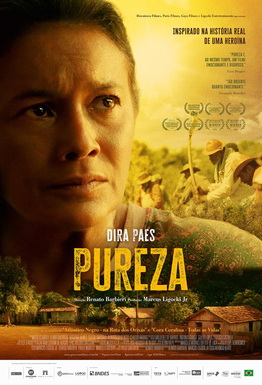 Dira Paes é 'Pureza' no longa que entra na briga pela indicação brasileira ao Oscar de Melhor Filme Estrangeiro