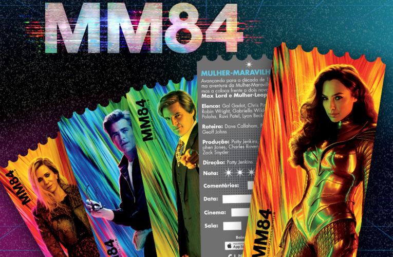 Cinemark lança cards colecionáveis de 'Mulher-Maravilha 1984'