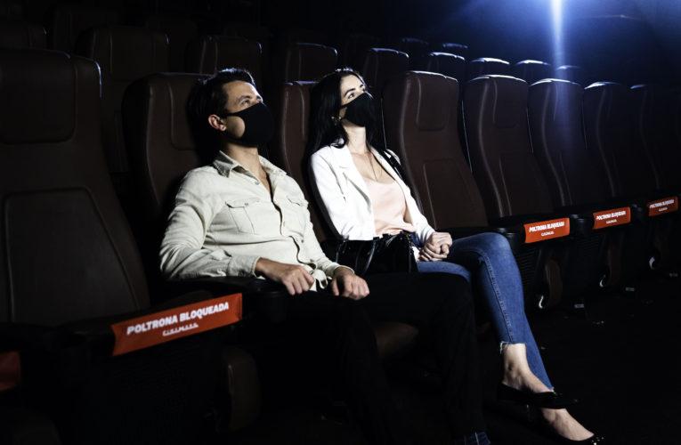Cinemark reabre 55 complexos neste sábado (24) com sessões de filmes que concorrem ao Oscar.