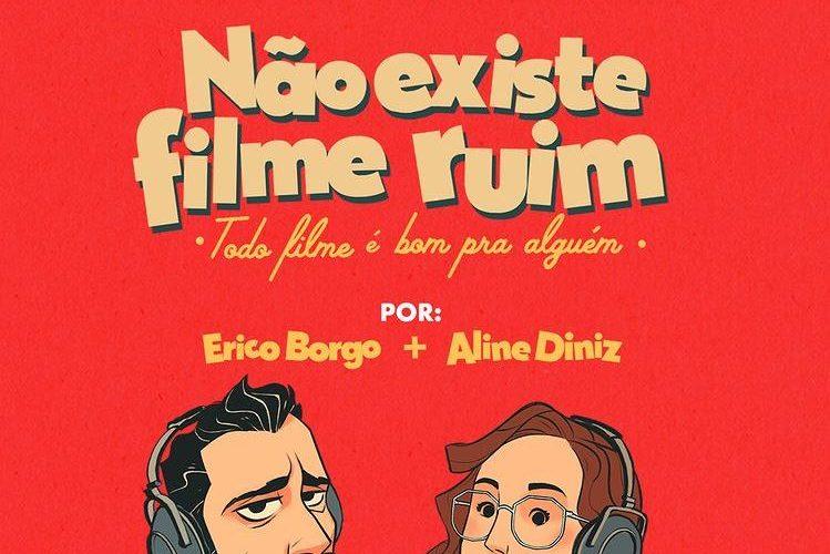 """Estreia hoje (8) podcast original da Cinemark em parceria com a Huuro: """"Não existe filme ruim, todo filme é bom pra alguém"""""""