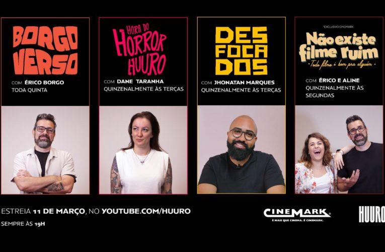 Cinemark inova, aposta em conteúdo original e faz parceria com a Huuro